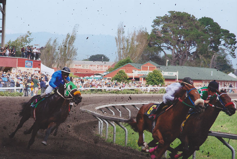 Horse Racing at Humboldt County Fair